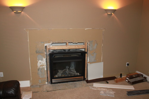 Fireplace and mantle placement Need help please