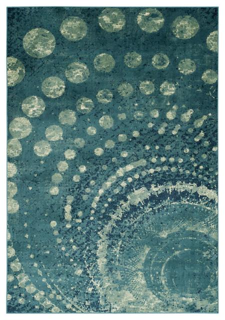"Safavieh Constellation Vintage Cnv749-2224 Rug, Turquoise/multi, 2&x27;2""x8&x27;."