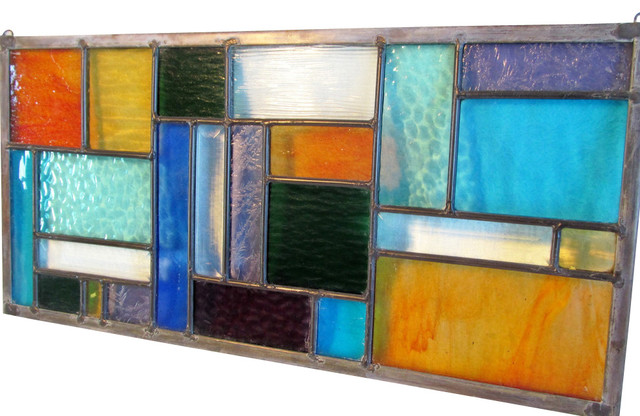 Stained Glass Stained Glass Window Leaded Glass Panel