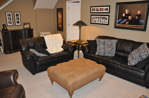 need paint color ideas for basement. Black Bedroom Furniture Sets. Home Design Ideas