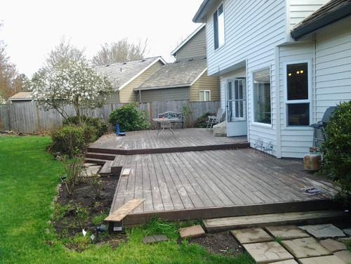 deck  landscaping ideas, around deck landscaping ideas, deck gardening ideas, deck landscaping ideas