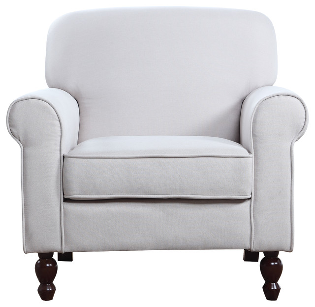 Shop houzz divano roma furniture mid century modern for Traditional armchairs for living room