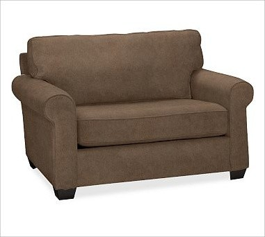 Buchanan Upholstered Twin Sleeper Chair Polyester Wrap