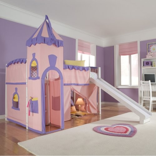 Perfect Schoolhouse Twin Princess Loft Bed   Eclectic   Kids Beds   By Hayneedle