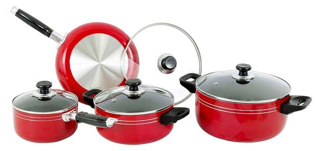 Major-Q 8 Piece Non-Stick Cookware Set.