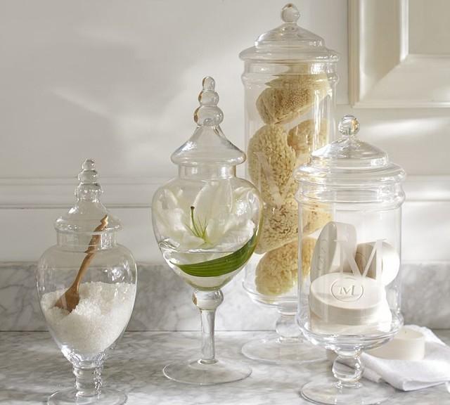 Classic Glass Apothecary Jar