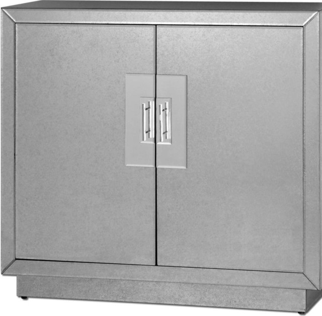 Shop Houzz | Uttermost Uttermost 24183 Andover Mirrored Cabinet - Medicine Cabinets