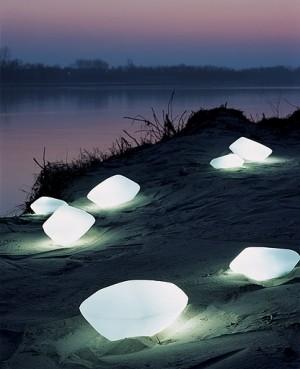 Stones outdoor lamp