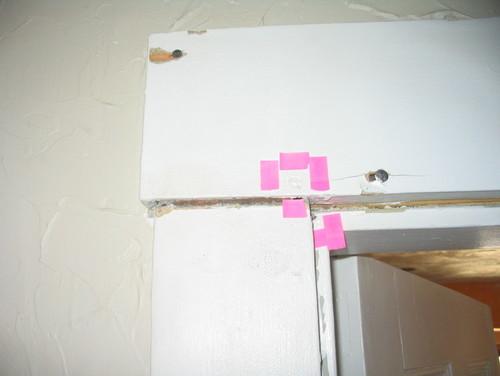 Tracing doorbell wires behind wall