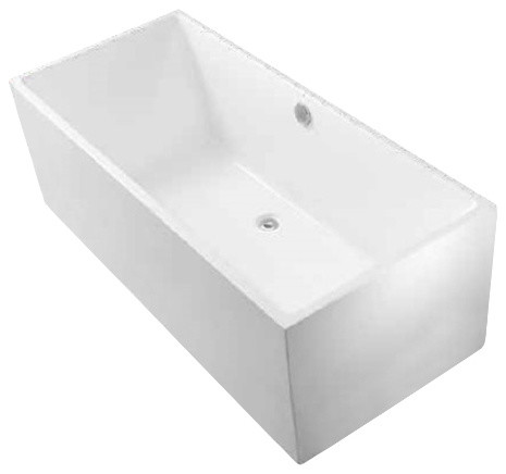 "Paris Freestanding Acrylic Tub, 60""."