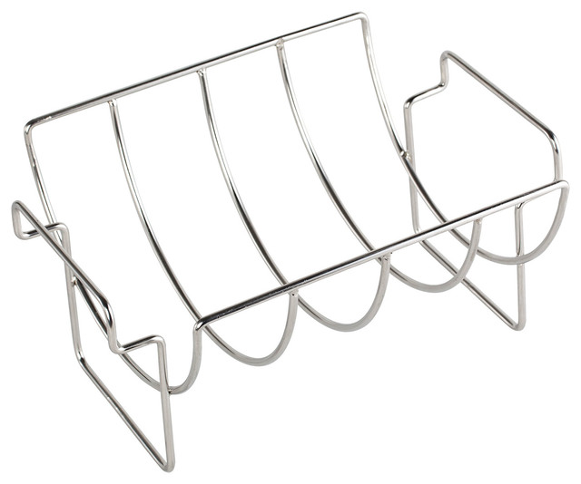 All-Pro 30-0032 4 Place Stainless Steel Rib Rack.