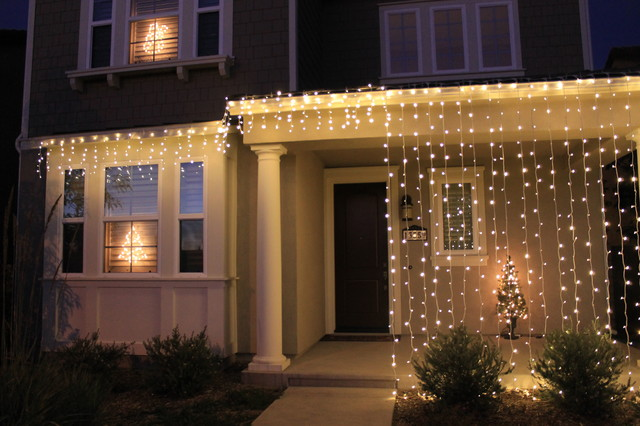 christmas home decorations modern exterior