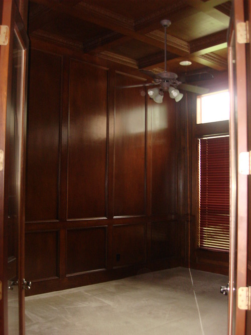 Panelled Room: Changing Dark Wood Paneling To A Lighter Color: Opinion Needed