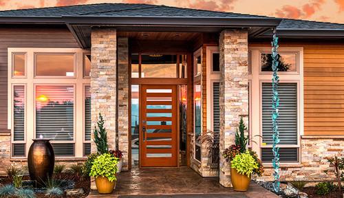 Wood V Fiberglass Experience With Exterior Simpson Door