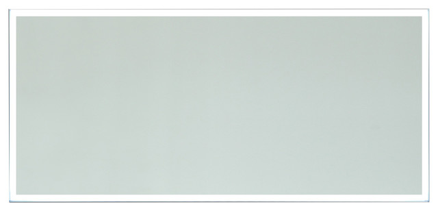 """Vanity Art Led Lighted Vanity Bathroom Mirror With Touch Switch, 60""""."""