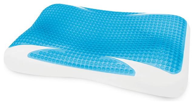 sensorpedic gelmax contour pillow