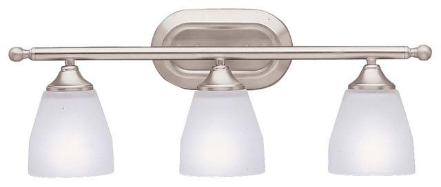 Kichler 45629pn Stelata Contemporary Polished Nickel 3: Kichler Ansonia 3-Light Vanity