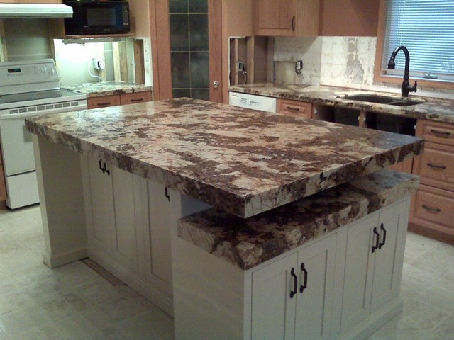 Delicieux Granite Countertops With Custom Leather Finish