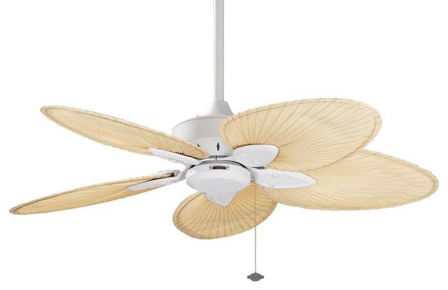 Windpointe 54 Ceiling Fan Matte White