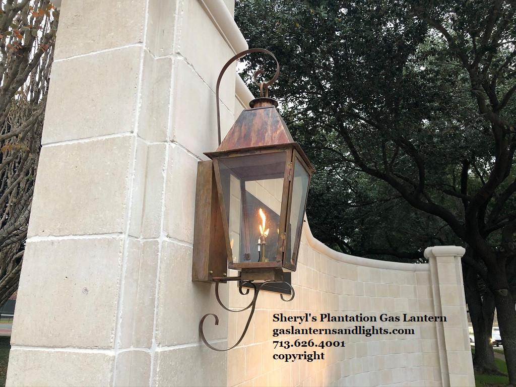 Sheryl's Plantation Lanterns with Copper Curls