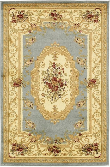 Traditional Area Rug Royale Collection Victorian Area