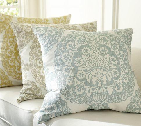 Lucianna Medallion Pillow Cover Pottery Barn
