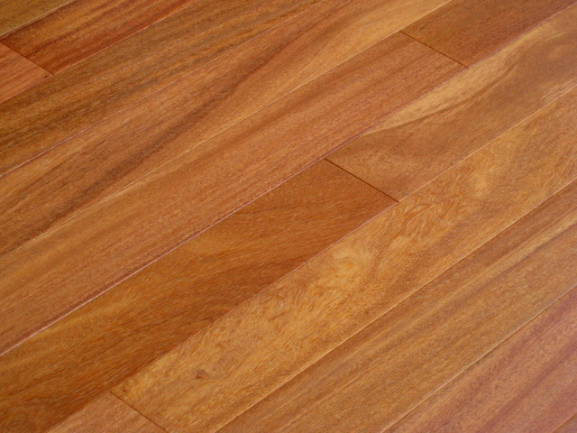 Shop houzz elegance plyquet brazilian teak cumaru for Traditional flooring