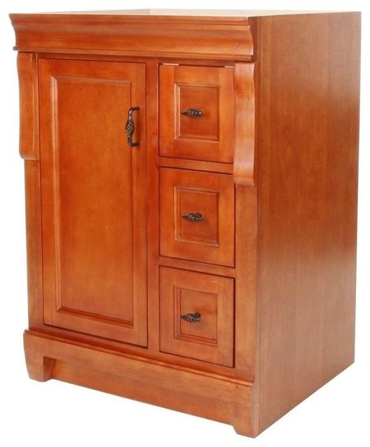 Naples 24 Wx18 0 Dx34 H Vanity Cabinet Only Warm