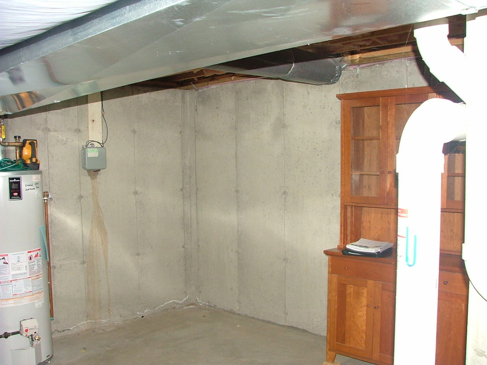 Before Photo of Wine cellar