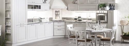 Colore cucina con fresa effetto legno - Piastrelle per cucina bianca ...
