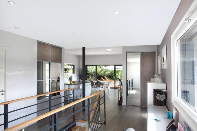 maison bois contemporaine contempor neo dijon de myotte duquet habitat. Black Bedroom Furniture Sets. Home Design Ideas