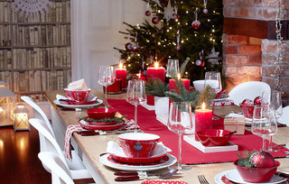 Christmas at home - dining table