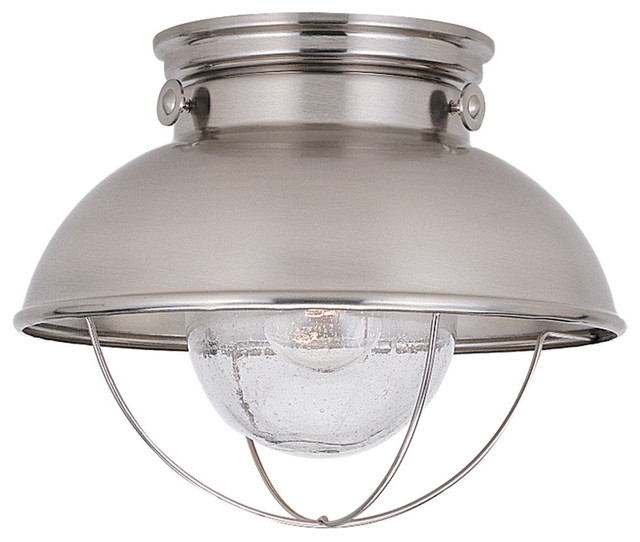 Beach Lighting Products: Sea Gull 886991S-12, Sebring Outdoor Ceiling Light