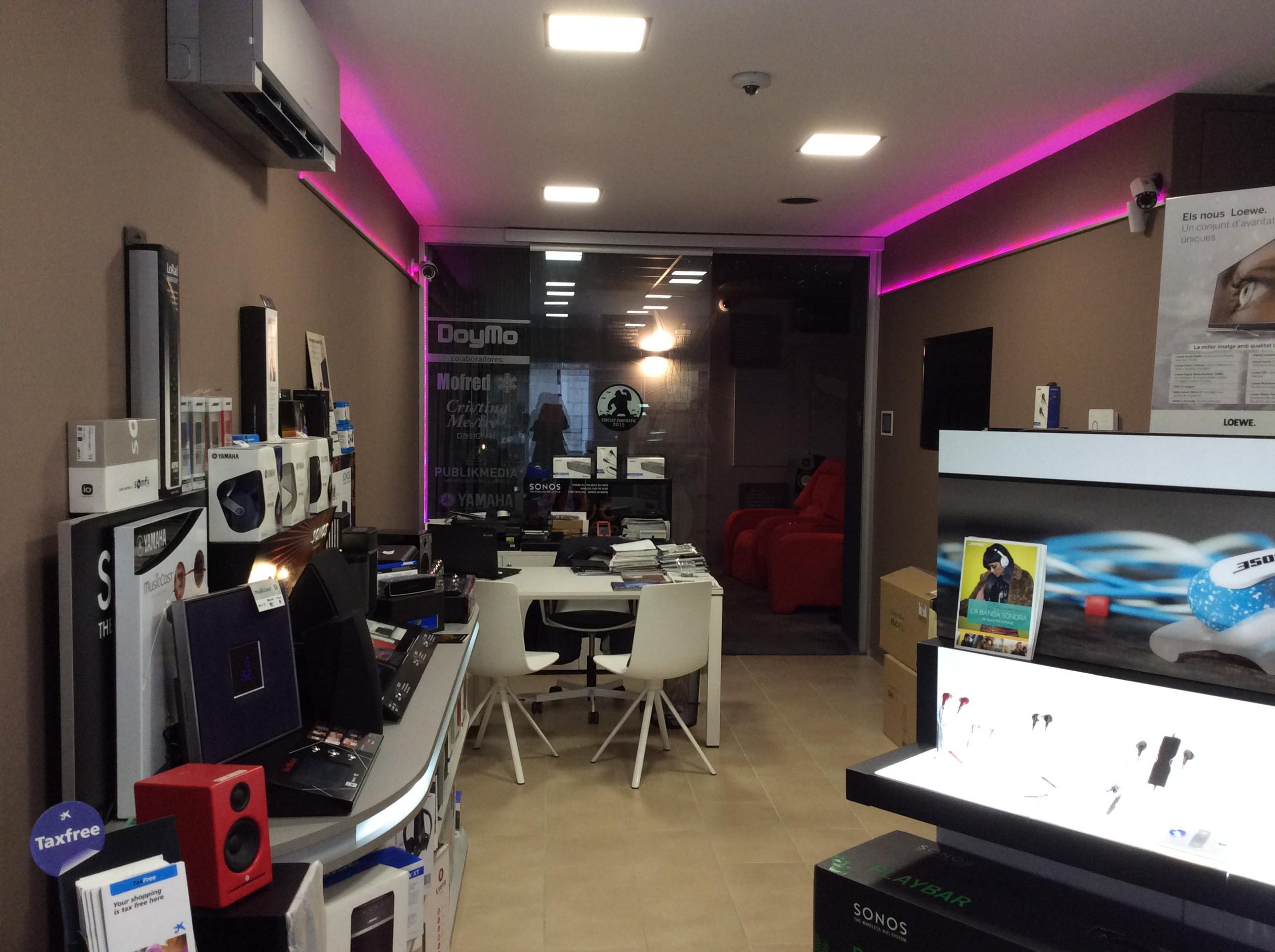 Doymo tienda audio y domótica