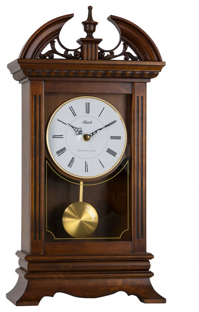 Hamilton Bracket Clock 20 Quot Traditional Desk And