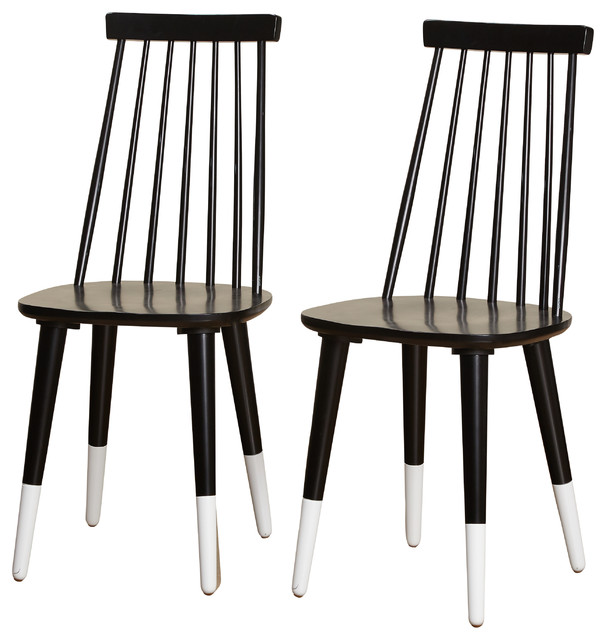 Delicieux Angelo:HOME Hermosa Dining Chair, Set Of 2, Black