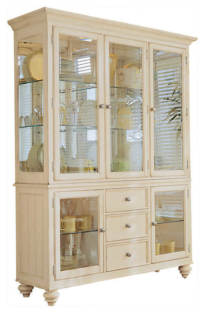 Camden China Cabinet By American Drew Traditional