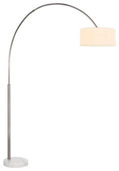 Shop houzz sonneman a way of light arc shade 1 light for Arc floor lamp glass shade