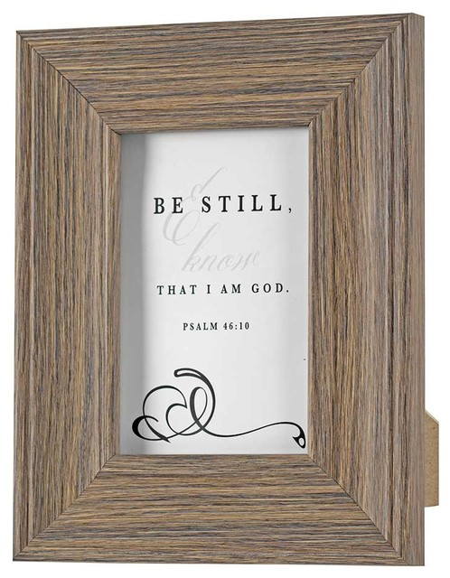Photo Frame Table Top Be Still Psalm 46 10 4 X6