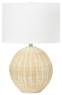 Shop Orb-Shaped Rattan Table Lamp from Houzz on Openhaus