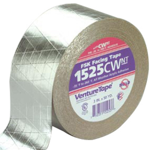 Venture Tape FSK Facing Tape 3 in x 150 ft, 1525CW.NT-N007