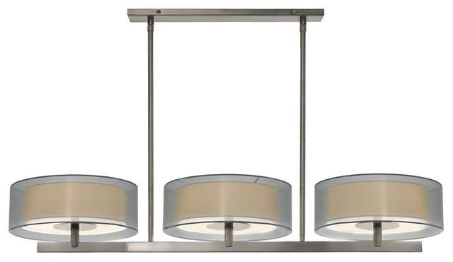 Sonneman Lighting Puri Contemporary Kitchen Island / Billiard Light  X 31.1006 Contemporary Pool