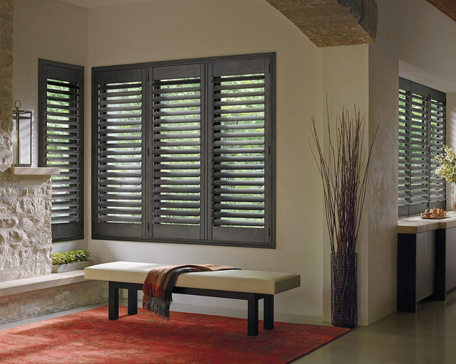 Bon Restoration Hardware Style Interior Shutters Contemporary