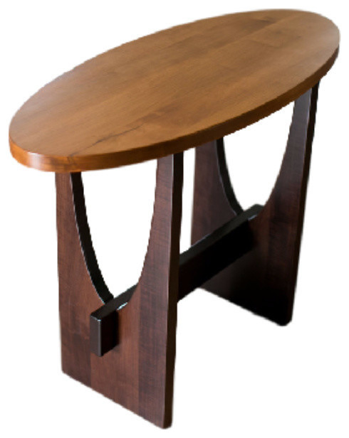 Standard finish sedona sofa table eclectic console