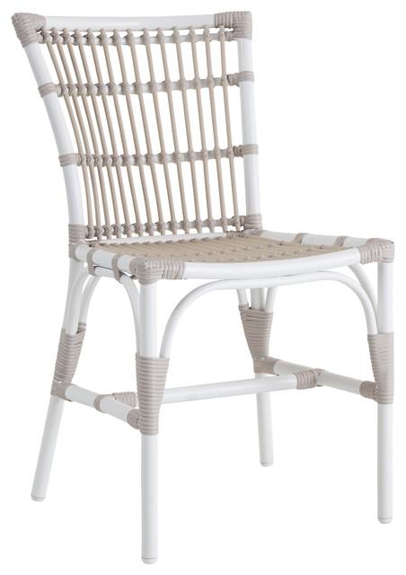 Sika Design Elisabeth Garden Dining Chair, Dove White