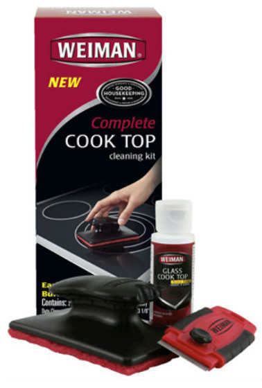 Weiman 98 Complete Cook Top Care Cleaning Kit
