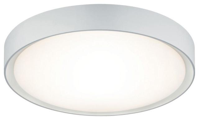 Clarimo Led Bathroom Ceiling Light, White.