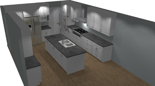 Kitchen Cabinet Layout