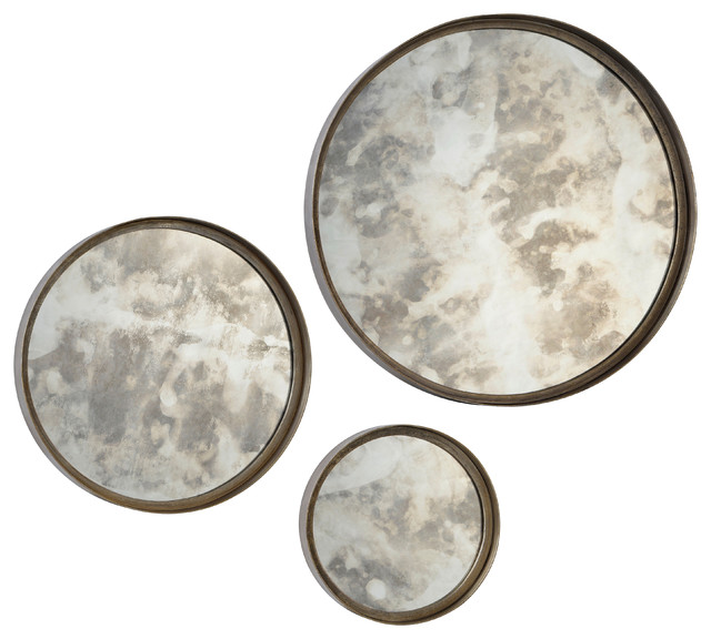 renwil - Renwil Wall Decorative Shire Set of 3 Mirrors Framed ...