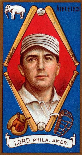 Quot Philadelphia Athletics Briscoe Lord Baseball Card